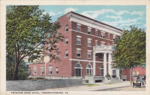 Princess Anne Hotel, Fredericksburg, Virginia, 10-20s