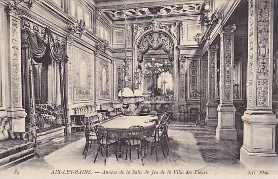 Interior- Annexe De La Salle De Jeu De La Villa Des Fleurs, Aix-Les-Bains (Sa...