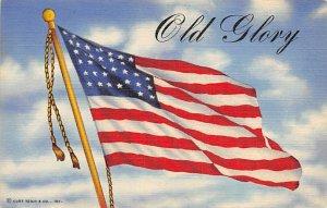 Old glory Flag Unused