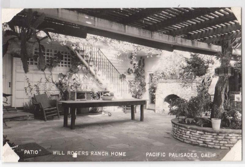 Will Rogers Ranch Home, Pacific Palisades CA