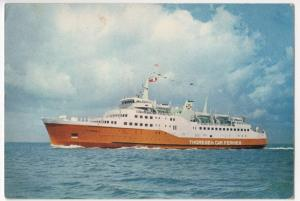 Shipping; Thoresen Car Ferries MV 'Viking 1' PPC, Unposted By J Arthur Dixon