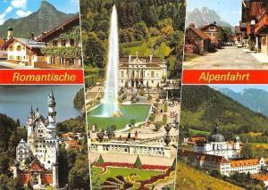 Romantische Alpenfahrt, Schloss Linderhof, Neuschwanstein Kloster Ettal Castles