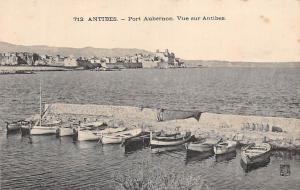 France Antibes - Port Aubernon, Vue sur Antibes, Boats