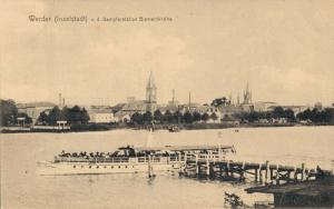 Germany - Werder Inselstadt v. d. Dampferstation Bismarckhöhe 02.33