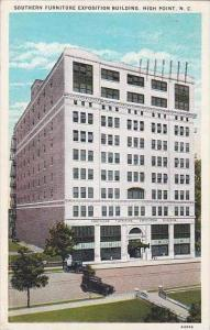 North Carolina High Point Southern Furniture Exposition Building 1933