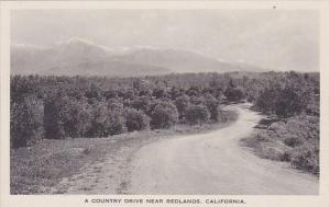 California Redlands A Country Drive