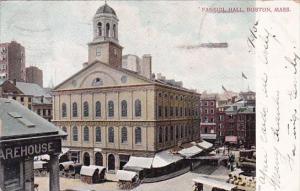 Faneuil Hall Boston Massachusetts 1906