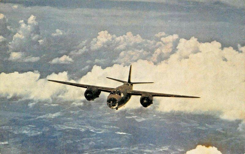 MARTIN MARAUDER FASTEST MEDIUM BOMBER IN THE WORL MILITARY POSTCARD
