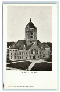 Postcard Court House, Taunton, Mass MA *Collection of N C Baker* F46
