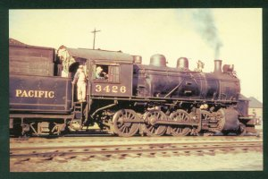 Northern Pacific 2-8-0 Consolidation No 3426 Steam Train Railroad Postcard