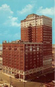 Detroit Michigan~Pick-Fort Shelby Hotel & Grill~Tiger Bar~Java Room~50s Postcard