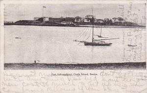 Massachusetts Boston Fort Independence Castle Island 1906