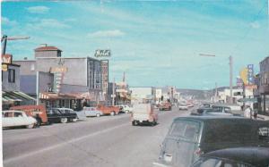 Main Street , CHIBOUGAMAU , Quebec , Canada , 50-60s