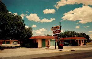 New Mexico Roswell Downtown Motel 1981