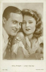 Actors Willy Fritsch & Lilian Harvey