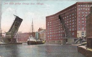 Illinois Chicago Jack Knife Bridge 1910