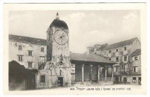 RP, Javna Loza I Toranj Za Gradski Sat, Trogir, Croatia, 1920-1940s