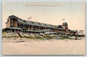 Seabreeze Florida~The Clarendon Hotel on the Beach~c1910 Postcard
