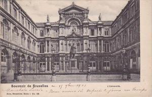 Belgium Brussells Souvenir De Bruxelles L Universite