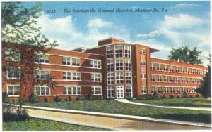 Linen of Martinsville General Hospital Martinsville Virginia