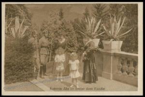 Austria WWI Kaiserin Zita Wife Kaiser Karl Franz Joseph Successor  RPPC 65716
