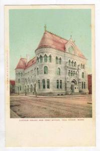 Custom House & Post Office,Fall River,MA,1900-1910s