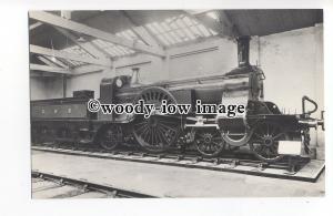 ry1433 - GNR Railway Engine no 1 - postcard