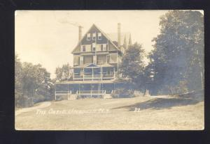 RPPC UNADILLA NEW YORK THE ONTIO HOTEL BOARDING HOUSE REAL