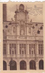 France Louvain Bibliotheque de l'Universite
