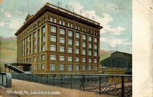 PA - Pittsburgh. Lake Erie Railroad Station