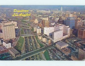 Pre-1980 AERIAL VIEW Los Angeles California CA AC9955