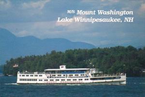 M/V Mount Washington Lake Winnipesaukee New Hampshire