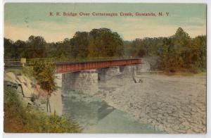RR Bridge, Cattaraugus Creek, Gowanda NY