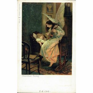 Knight Series Postcard 'Slumber Song'