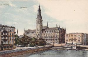 Rathhaus, Hamburg, Germany, 1900-1910s