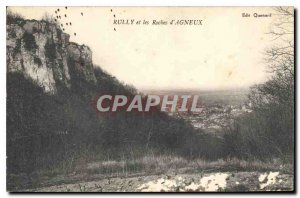 Postcard Old Rully and Rocks Agneux