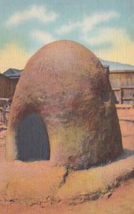 New Mexico Adobe Indian Bake Oven Of The Southwest Curteich