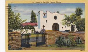 Arizona St Philip's In The Hills Church 1952 Curteich