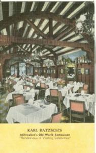 Karl Ratzsch's Milwaukee's Old World Restaurant, Milwauke...
