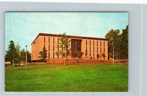 Kingston RI-Rhode Island, University Rhode Island Library, Chrome c1970 Postcard