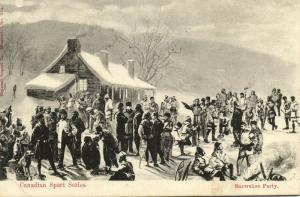 Canadian Sport Series, Snowshoe Party (1910s)