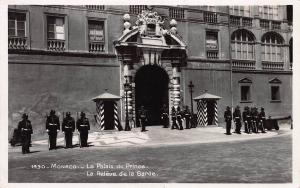 Monaco, The Prince's Palace, Early Real Photo Postcard, Unused