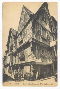 Une Vielle Maison Du XV Siecle, Tours (Indre et Loire), France, 1900-1910s