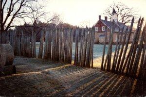 North Carolina Winston Salem Daybreak At Bethabara Park