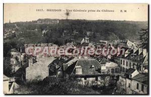 Postcard Old Chateau of Meudon taken Vue generale