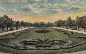 KANSAS CITY, Missouri, 1912; Sunken Garden on the Paseo