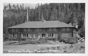 F26/ Yachats Oregon RPPC Postcard c1950s Sherwood Lodge