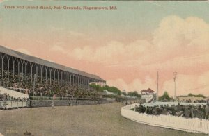 HAGERSTOWN , Maryland, 1912 ; Horse Race Track