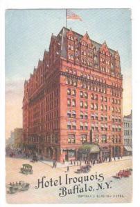 Hotel Iroquois, Buffalo, New York, PU-1918