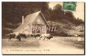 La Bourboule Old Postcard Source Clemence (cows)